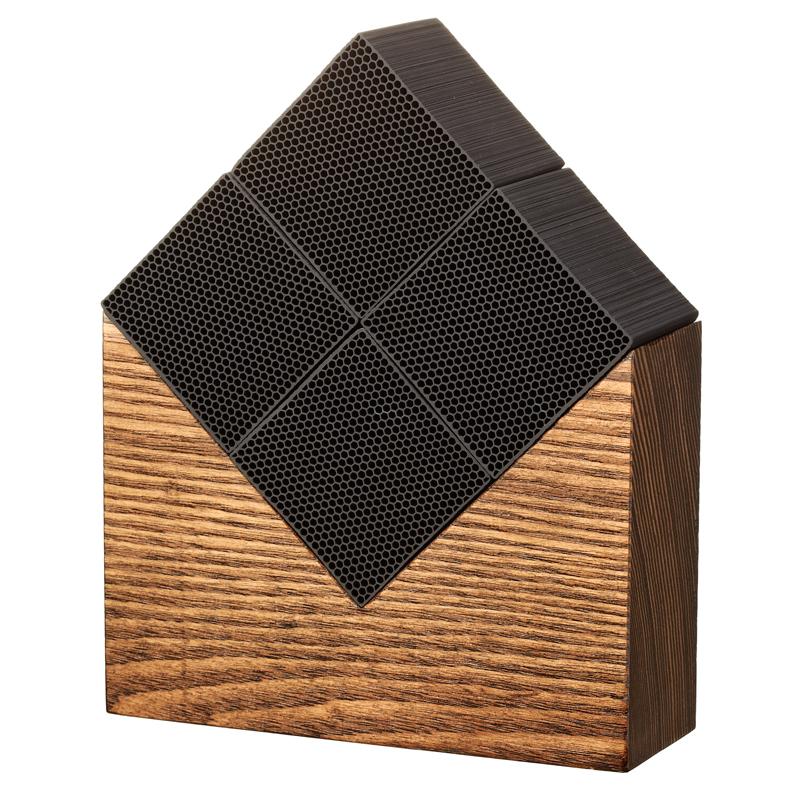 Morihata - Chikuno Large Cube House - Brown - 4 Cube MJ23