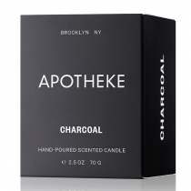 Charcoal Votive Candle - 2.5 oz