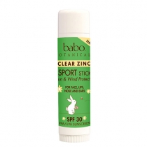 Clear Zinc Sport Stick SPF 30 Sunscreen
