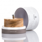 Olive Wood Shaving Bowl With Soap - 5.2 oz