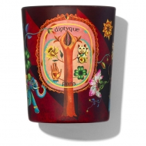 Holiday Candle  6.5 oz - Lucky Flowers