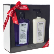 Body Cleanser/Body Lotion Gift Set - Lavender