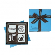 Marie Belle - Bigelow 4 pc Chocolate Set