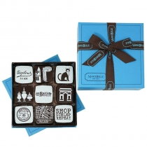 C.O. Bigelow 9 piece Chocolate Caramels Box