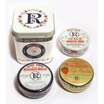 Rosebud Three Lavish Layers of Lip Balm (Gift Tin)