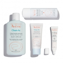 Clean Ac - Soothing Blemish Solutions Kit