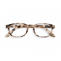 Reading Glasses # B - The Rectangular - Light Tortoise