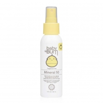 Baby Bum SPF 50 Mineral Sunscreen Spray - Fragrance Free - 3 fl oz