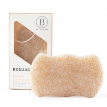 Konjac Walnut Shell Exfoliating Body Sponge