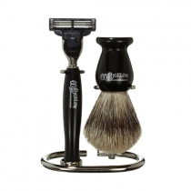 Shaving Set - Ebony