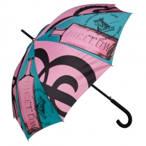 Color Print Stick Umbrella