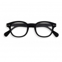 Reading Glasses # C - The Retro - Black