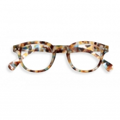 Reading Glasses # C - The Retro - Blue Tortoise