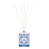 Limited Edition Hand painted Ceramic Diffuser-  Mediterraneo