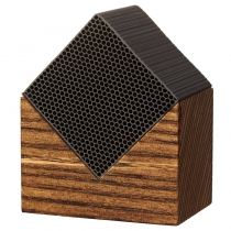 Chikuno Cube House - Brown - Single Cube