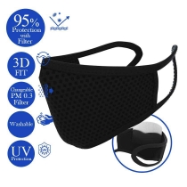 Changeable Filter Mask - Black