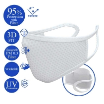 Changeable Filter Mask - White