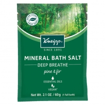 Mineral Salt Sachet - Deep Breathe - 2 oz