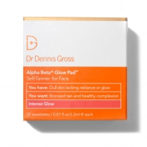 Alpha Beta Glow Pad - Intense Glow - 20 towelettes