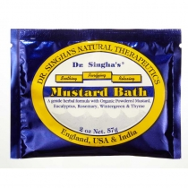 Mustard Bath  2 oz Packet