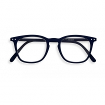 Reading Glasses # E - The Trapeze - Navy Blue