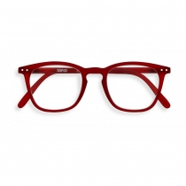 Reading Glasses #E - The Trapeze - Red