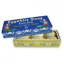 Kala - Eggwhite Facial Soap with Chamomille Flowers - Box of 6