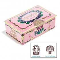 Louise Sherry -2 Piece Chocolate Gift Tin - Orchid Pink