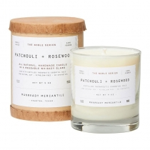 The Noble Series Soy Candle - Patchouli + Rosewood