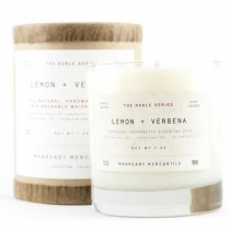 The Noble Series Soy Candle - Lemon + Verbena