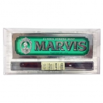Classic Flavor Box with Bigelow Natural Bristle Toothbrush