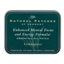 Lemongrass Enchanced Mental Focus and Engery Formula Patch