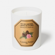 Siberian Fir & Dades Rose Candle - 6.5 oz