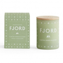 Fjord Mini Candle (Carved from Glaciers)