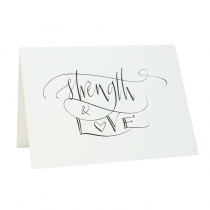 """Strength & Love"" Compliment Card"