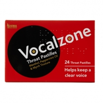 Vocalzone Throat Pastilles - Original - 24 Pastilles