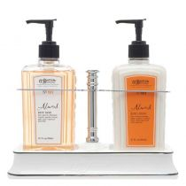 C.O. Bigelow Handwash/BodyLotion Caddy - Almond