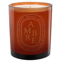 Diptyque Colored Glass Candle - Ambre (Amber)
