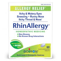Boiron RhinAllergy Tablets - 60 tablets