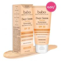 Babo Botanicals Tinted Sunscreen SPF30 - Natural Glow