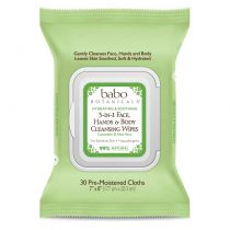 Babo Botanicals 3-in-1 Hydrating Wipes - Cucumber & Aloe Vera