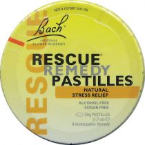 Bach Flower Rescue Pastilles - Orange & Elderflower
