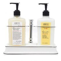 C.O. Bigelow Handwash / Body Lotion Caddy - Lemon