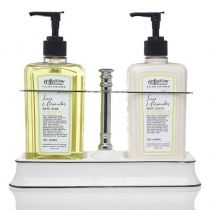 C.O. Bigelow Handwash / Body Lotion Caddy - Lime & Coriander