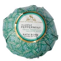 Soap and Paper Factory Bath Bomb - Muddled Peppermint
