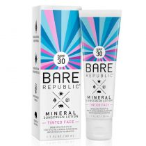 Bare Republic Tinted Face Mineral Sunscreen Lotion SPF 30