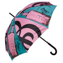 C.O. Bigelow Color Print Stick Umbrella
