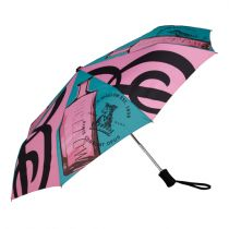 C.O. Bigelow Color Print Compact Umbrella