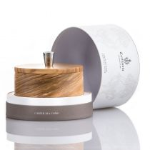 Carthusia Olive Wood Shaving Bowl With Soap - 5.2 oz