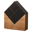 Morihata Chikuno Large Cube House - Brown - 4 Cube